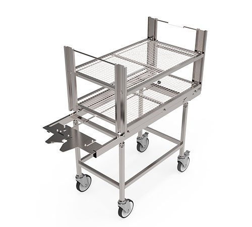 Fixed Height Transport Trolleys