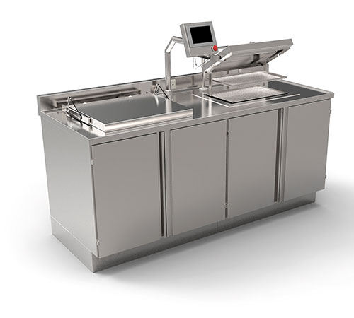 Fully automatic Pre-Cleaning station