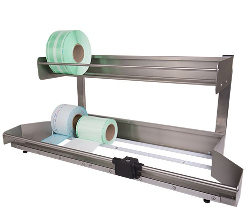 Stainless Steel Holders To Store Packaging Material On Rolls